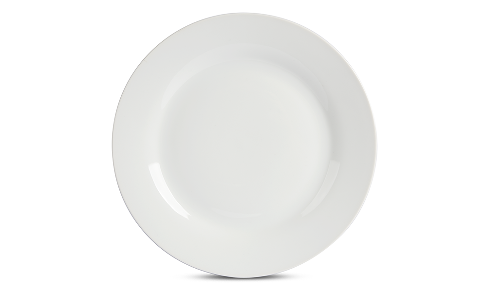 sc 1 st  Brandless & White Porcelain Dinner Plate - 10.5 in | Brandless